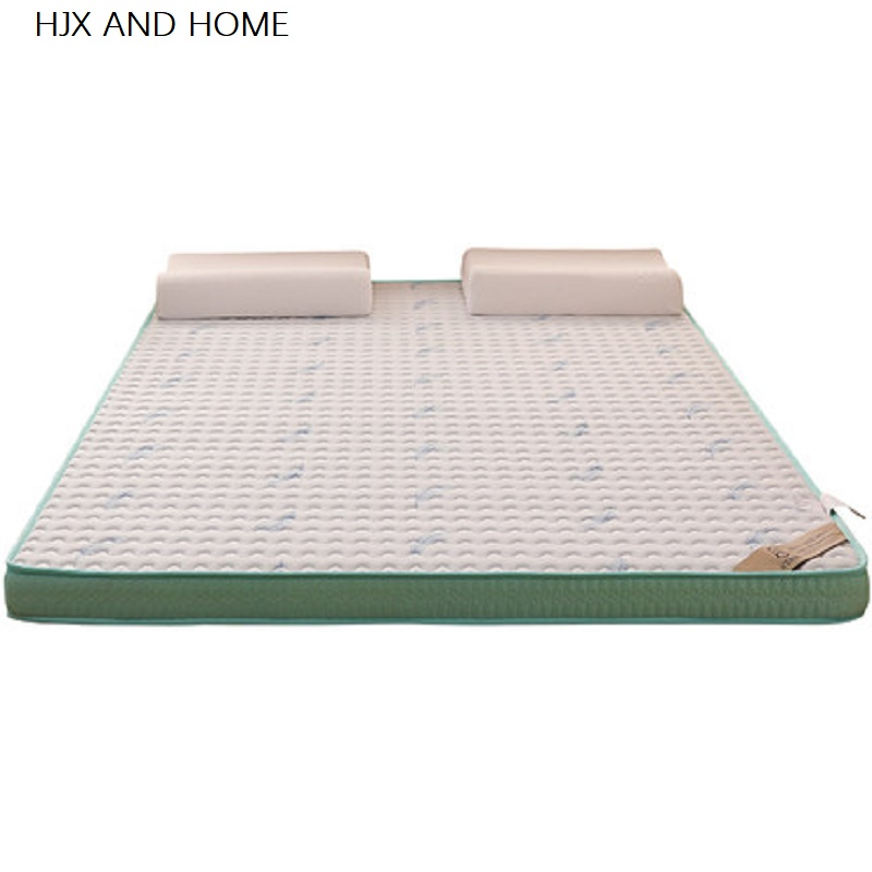 Natural Latex And Memory Foam Filling 6cm Mattress  Stereoscopic Breathable Comfortable Single Double Size Mattress