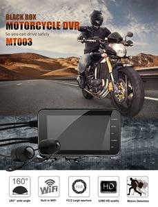 Image 5 - Cámara DVR IP65 impermeable grabadora de conducción WiFi 1080P Dual motocicleta cámara de salpicadero