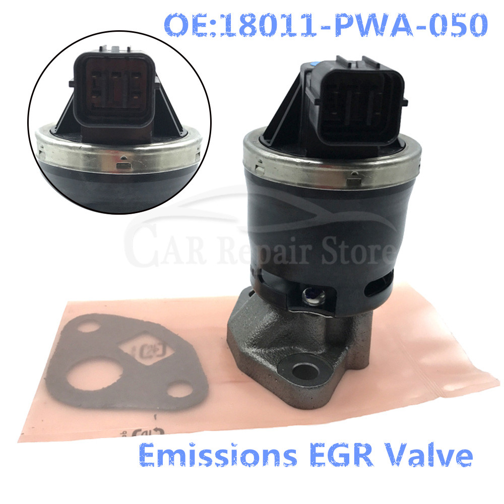 Emissions EGR Valve 18011-PWA-050 For Civic City Jazz 2003-2008 1.2 1.3 1.4 1.5 OEM 18011-PWA-030 / 18011PWA050
