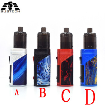 New 100w Electronic Cigarette Kits with 2000mAh battery Kit 0.5ohm Metal Body Mod box e-cigarette Tank Atomizer Vape SUB TWO electronic cigarette 80w mod box kit built in 2000mah battery box mod 3ml tank adjustable e cigarette big smoke atomizer vape