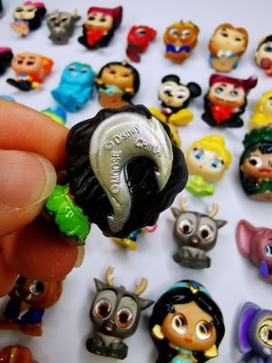 15pcs different Disney Doorables Princess Dolls Series 1 & 2 Cartoon Monsters Toy MINI SIZE Rare Collection No Dups Gift Kids 2