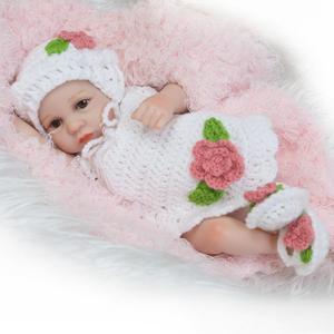 Силиконовые Куклы для девочек, реалистичные куклы для новорожденных, реалистичные силиконовые куклы ручной работы для детей