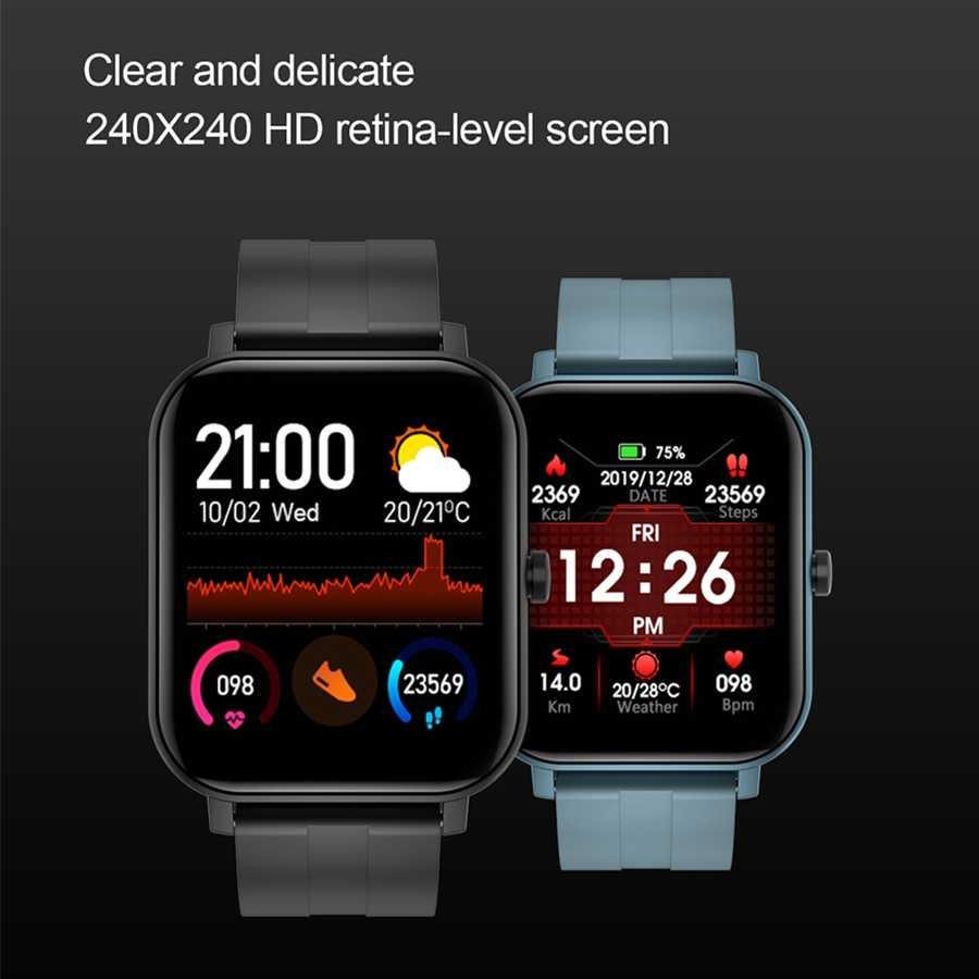 LEMFO ساعة ذكية الرجال كامل اللمس معدل ضربات القلب ضغط الدم ساعة ذكية النساء Smartwatch جهاز تعقب للياقة البدنية ل أندرويد
