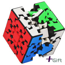 Волшебные головоломки yumo zhichen gear cube 3x3x3 3x3 образовательные