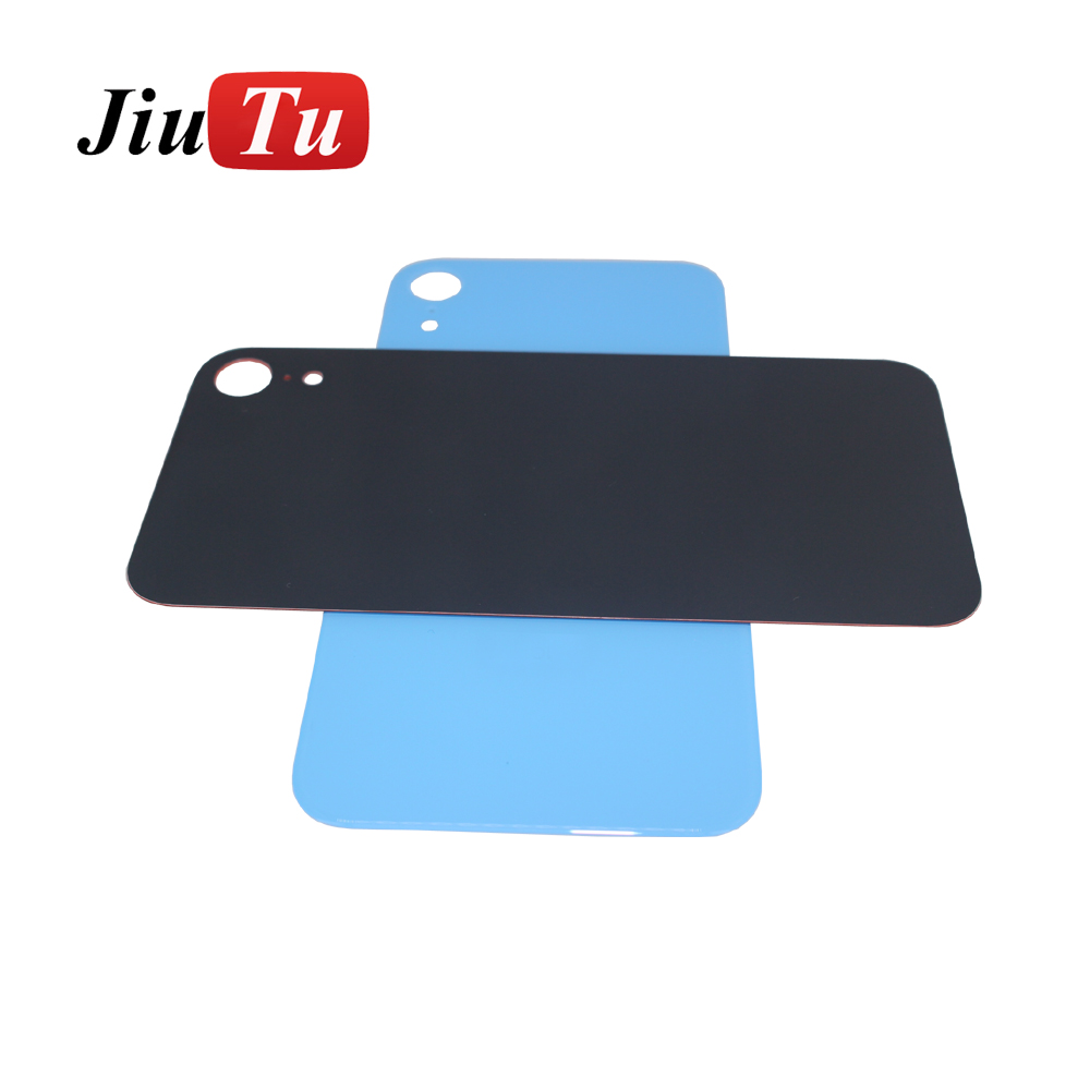 New Back Glass Replacement For iPhone 8 8G 8Plus 8P 8 Plus  X Battery Cover Rear Door Housing+ Adhesive Sticker jiutu (1)