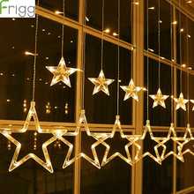 Christmas Star LED Light Ornaments Tree Decoration Outdoor 2018 Merry Decor For Home 2019 New Year