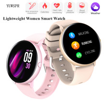 Lightweight Women Smart Watch Body Temperature ECG/PPG Calories Monitoring Fashion Lady Healthy Tracker Smart Sports Clock S22T