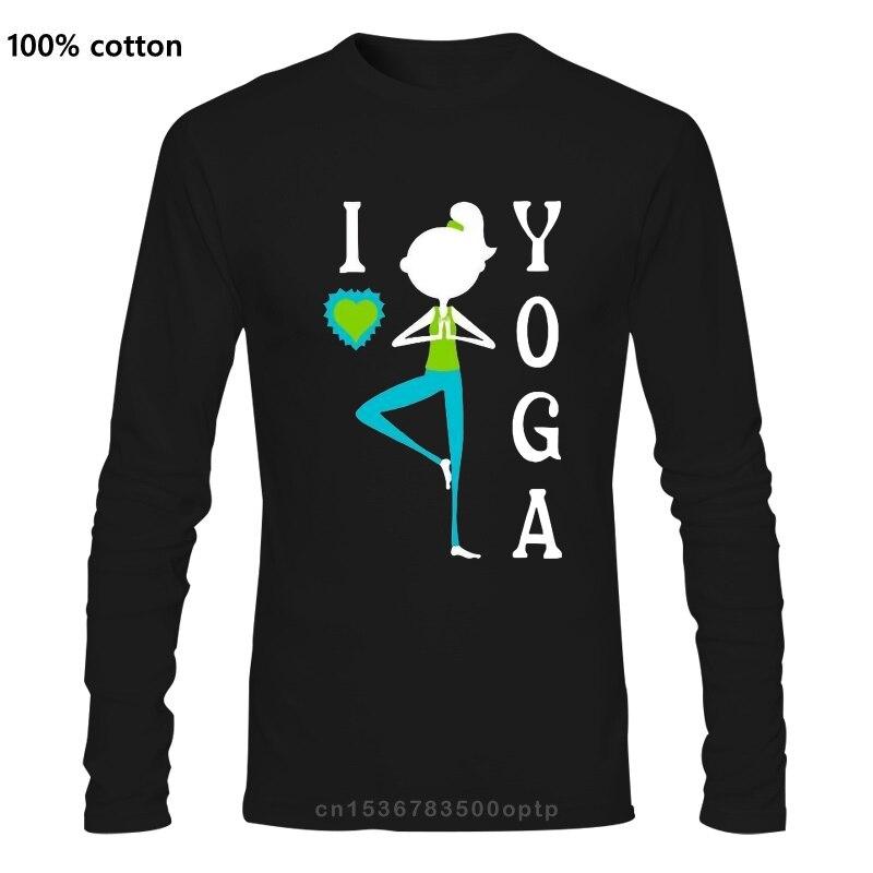 Inktastic с надписью «I Love Йога для женщин размера плюс футболка активности медитации сердце солнцезащитные уличной одежды, модная футболка|Футболки| | АлиЭкспресс