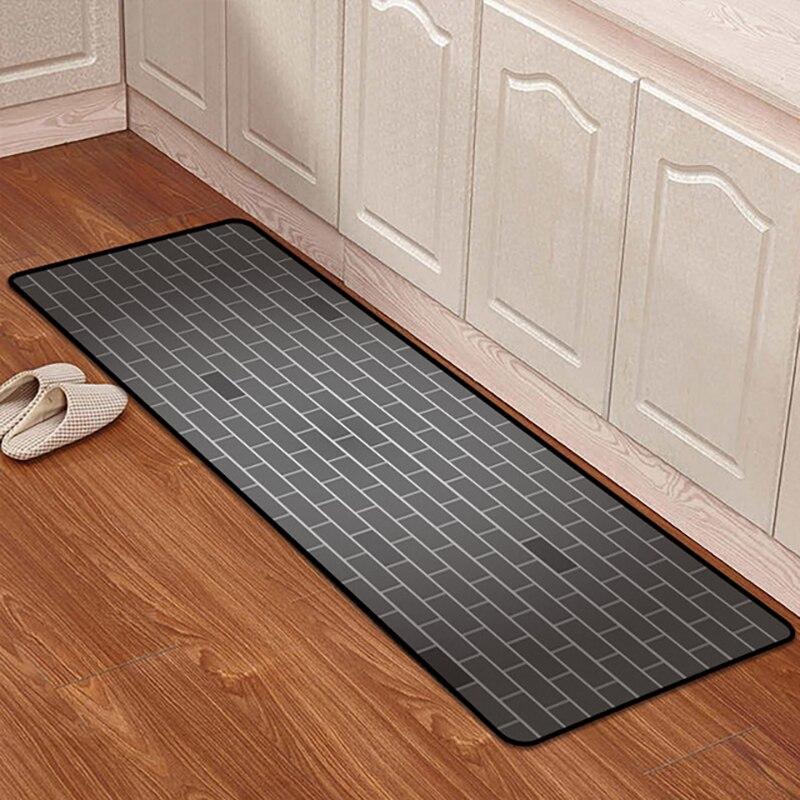 Floor Mat Carpet For Living Room Kitchen Long Anti-slip Carpets Cartoon Door Mats Rug Bedside Outdoor Entrance Front Doormat