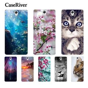 "CaseRiver 5.0"" For Lenovo Vibe S1 Case TPU Soft Silicone Phone Case FOR Lenovo S1 S1a40 S1c50 Back Case For Coque Lenovo S1 Case(China)"
