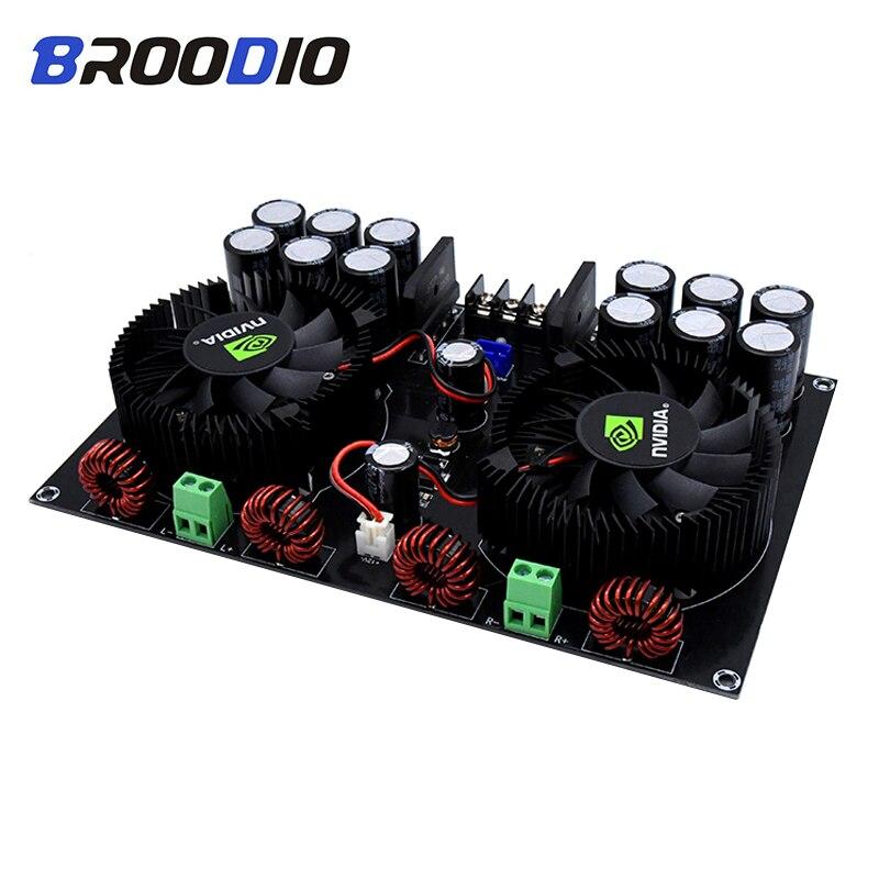 2 TDA8954TH Alta Potência Placa Amplificador Digital de 2.0 Canais * 420W Áudio Traseira Pura-Amplificadores de Estágio Para Estágio som Amp DIY