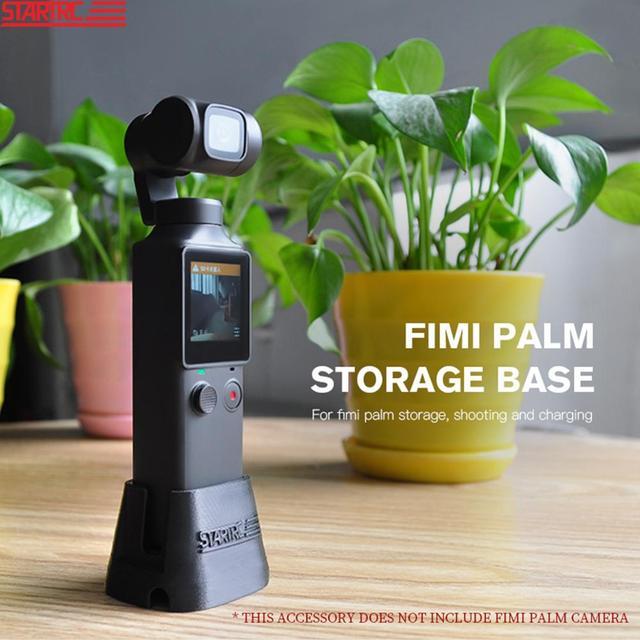 Startrc Fimi Palm Oplaadstation Stand Mount Houder Beugel Uitbreiding Met Oplaadkabel Voor Fimi Palm Handheld Camera Gimbal