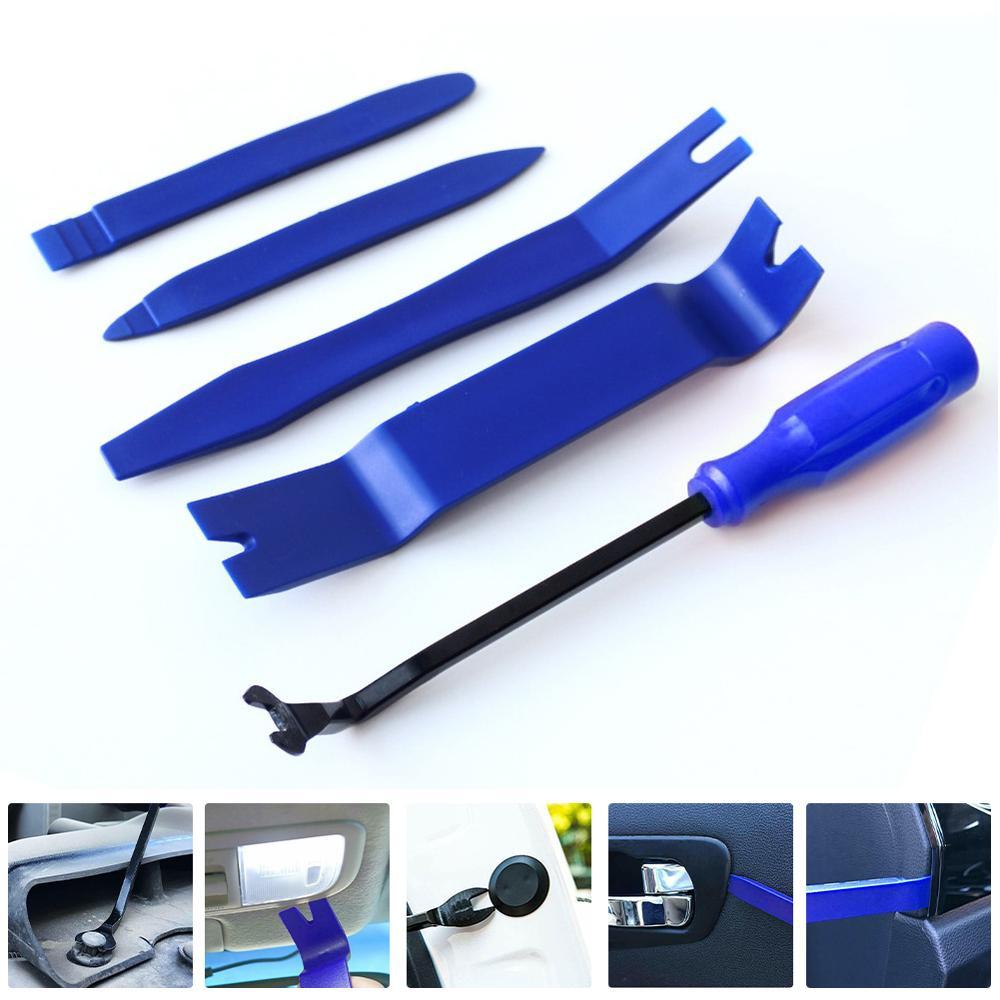 5pcs/set Car Dashboard Disassembly Tools DVD Stereo Refit Kits Interior Trim Panel Dashboard Installation Removal Repair Tools