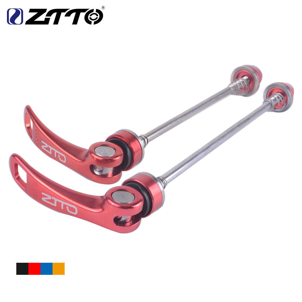 Details about  /PAIR ZTTO Aluminum Alloy MTB Road Bicycle Quick Release Wheel Skewers Lever Clip