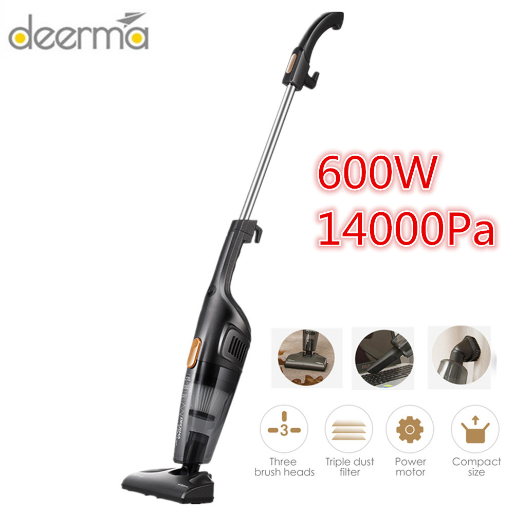 Deerma Vacuum Cleaner Handheld Vertical For Home Car 14000Pa Vacuum Cleaner Hepa Strong Suction Portable Dust Collector