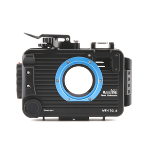 Image 2 - Weefine 100 meter TG5 TG6 Aluminium alloy Underwater Case Diving Waterproof Housing Case for Olympus TG 5 TG 6 Camera