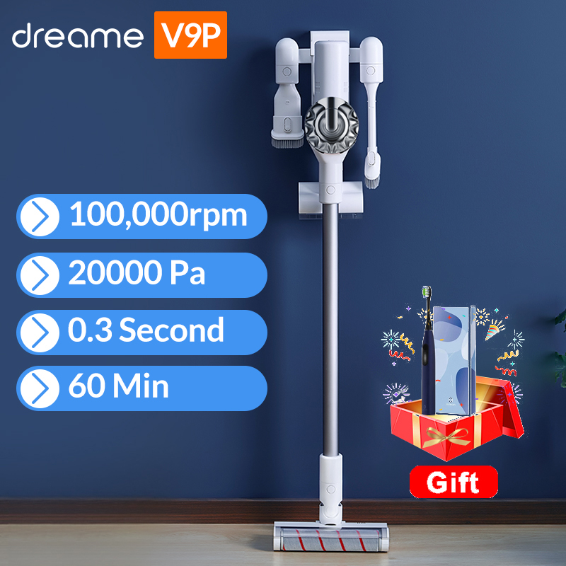 Dreame V9P Handheld Wireless Vacuum Cleaner Portable Cordless Cyclone Filter Carpet Dust Collector Carpet Sweep Vacuum Cleaners  - AliExpress
