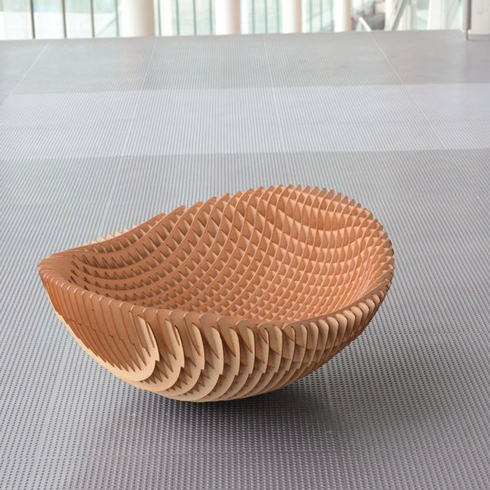 Bowl Chair Vector Design Drawing 3d Dxf Format Files For Woodworking CNC Laser Cutting Files