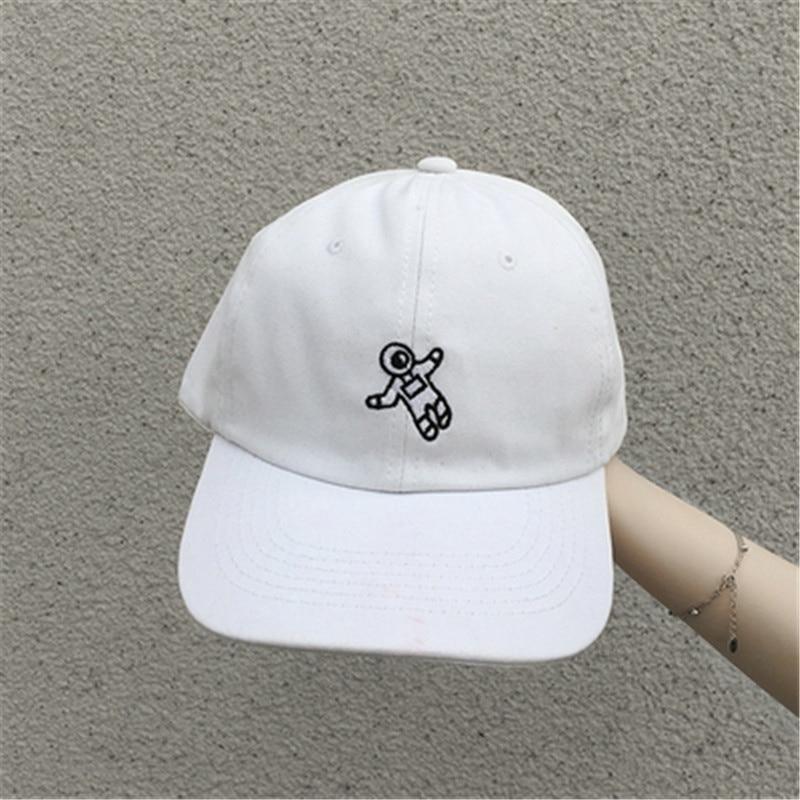 Baseball Cap Astronauts Embroidery Spaceman Hat Fashion Cotton Cap Dad Hat