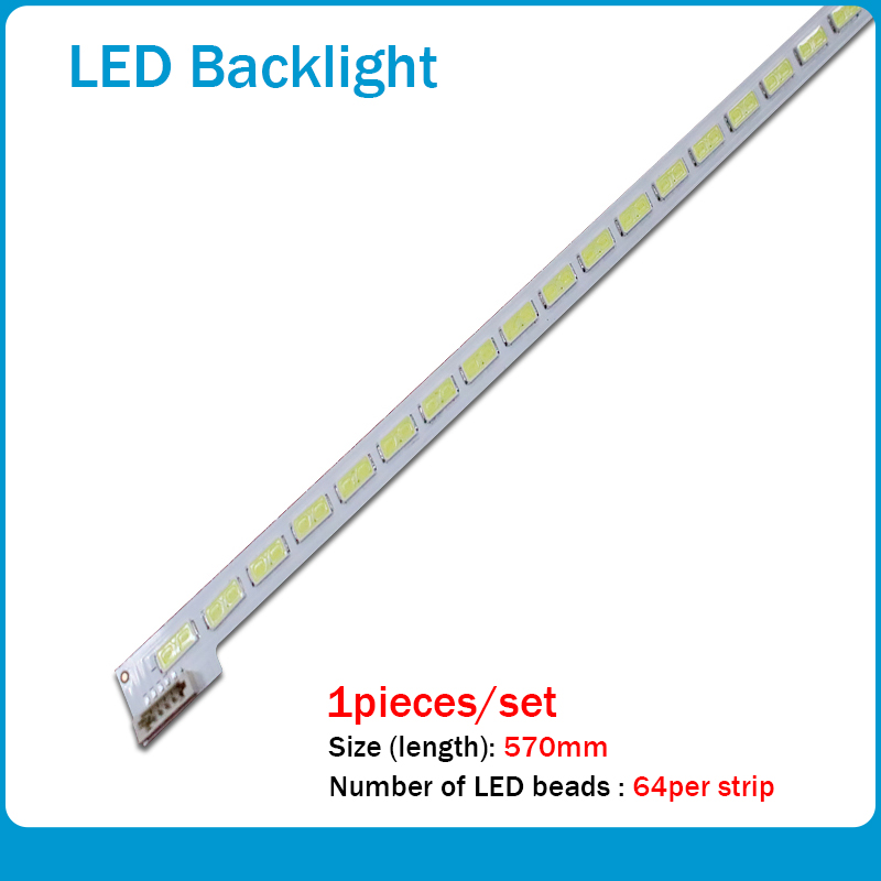 LTA460HQ18 Article Lamp LJ64-03471A 2012SGS46 7030L 64 REV1.0 1piece=64LED 570MM