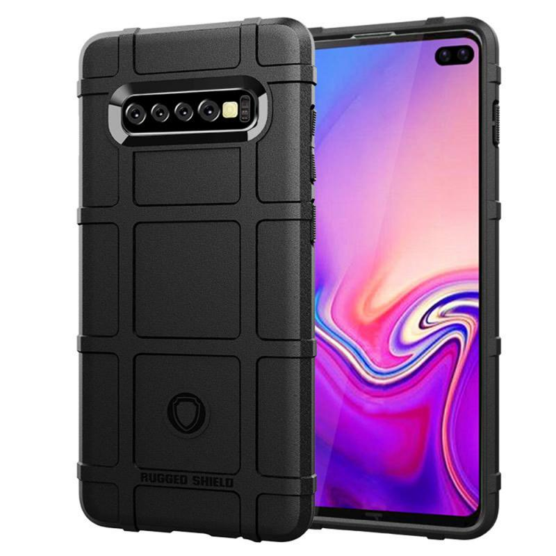 For Samsung Galaxy S10 Plus Case Mobile Shell Cover Silicone Smartphone Protective Anti-Fall Soft Shell Cover