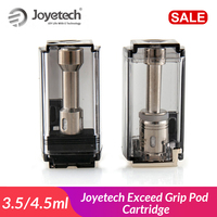 Original Joyetech Exceed Grip Pod Cartridge 3.5ml/4.5ml EX-M 0.4ohm Head for exceed grip Pod System vape Electronic Cigarette
