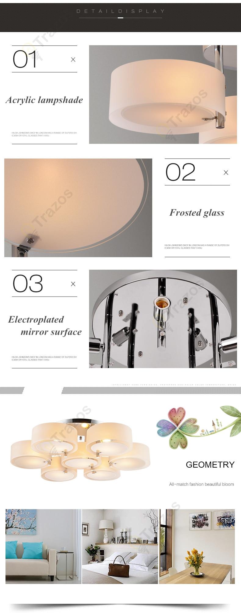 H94f2cc26456c48339e48b3a211c838dbt NEW 2019 Modern Ceiling Lights modern fashionable design dining room lamp pendente de teto de cristal white shade acrylic lustre
