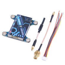 iFlight SucceX Force 5.8g 25mW/100mW/400mW/800mW Adjustable video transmitter VTX with MMCX to SMA/RP SMA adapter cable for FPV