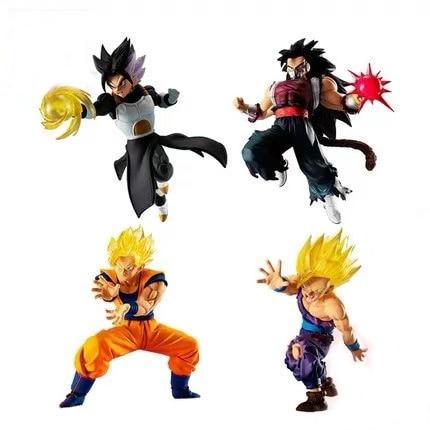 Original Bandai Dragon Ball Gashapon Figure VS 11 Super Saiyan Goku Gohan Cumber Vegeks PVC Figure Toys Figurals Dolls