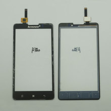 Touch-Screen Mobile-Phone Digitizer Lcd-Display Replace-Spare-Parts Lenovo for P780 Front-Glass-Sensor