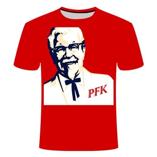 Летняя футболка с 3D принтом в виде пива, покера, для мужчин и женщин, забавная Новинка, футболка с круглым вырезом и коротким рукавом, топы, модные уличные мужские футболки - Цвет: TX084