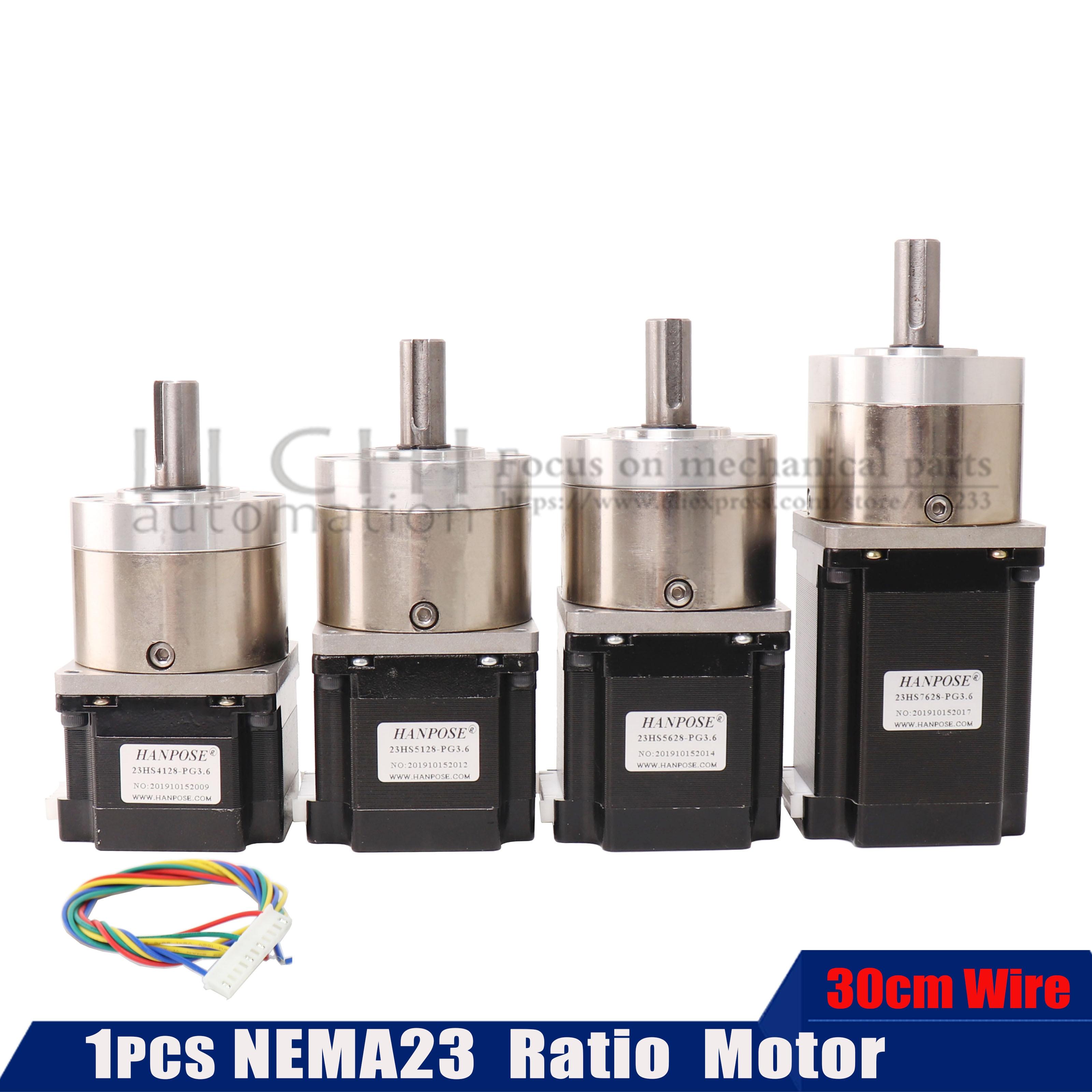 neam23 57 Step Moto Extruder Gear 23hs5628 7628 4128 Stepper Motor Ratio 5.18:1 Planetary Gearbox OSM Geared For 3D Printer