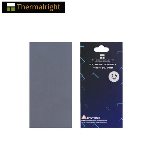 Thermalright ODYSSEY Thermal Pad , Non-conductive Gpu Card Water Cooling Thermal Mat 12.8W/mk 85x45mm 0.5mm/1.0mm/1.5mm/2.0mm
