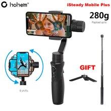Hohem iSteady Mobile Plus Smartphone Giunto Cardanico 3 Assi Handheld Stabilizzatore per il iPhone 11 Pro Max XS XR X 8 più di Samsung S10 + S10 S9 +