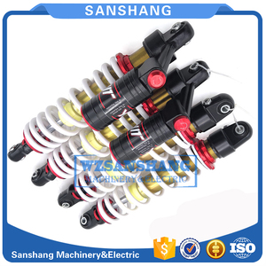 Image 1 - 4PCS Front REAR SHOCK ABSORBER WITH AIR BAG SUIT for cfmoto cf800 2(x8)part no.7020 061600 30000/7020 051600 30000