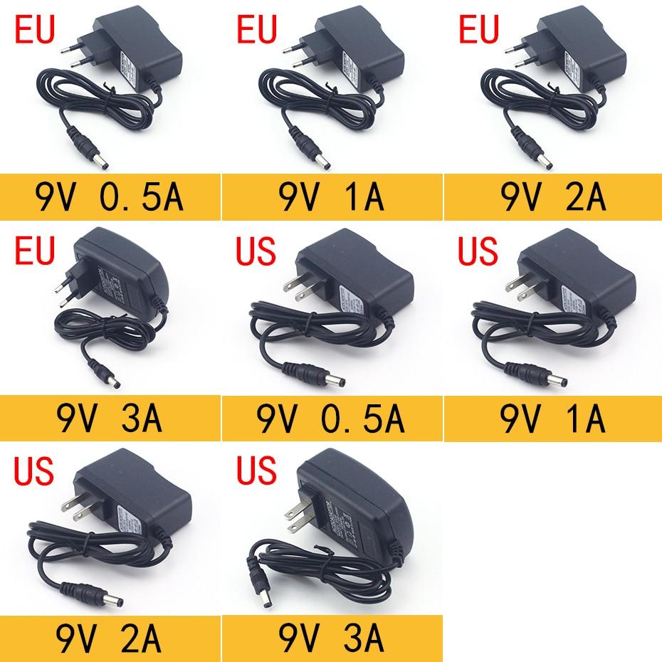 AC 110-240V DC 3V 5V 6V 9V 12V 15V 24V 0.5A 1A 2A 3A 5A 6A 8A Универсальный адаптер питания зарядное устройство адаптер ЕС США светодиодный светильник