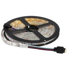 5M RGB 5050 Waterproof LED Strip light SMD 24 Key Remote 12V US Power Full Kit practical portable light
