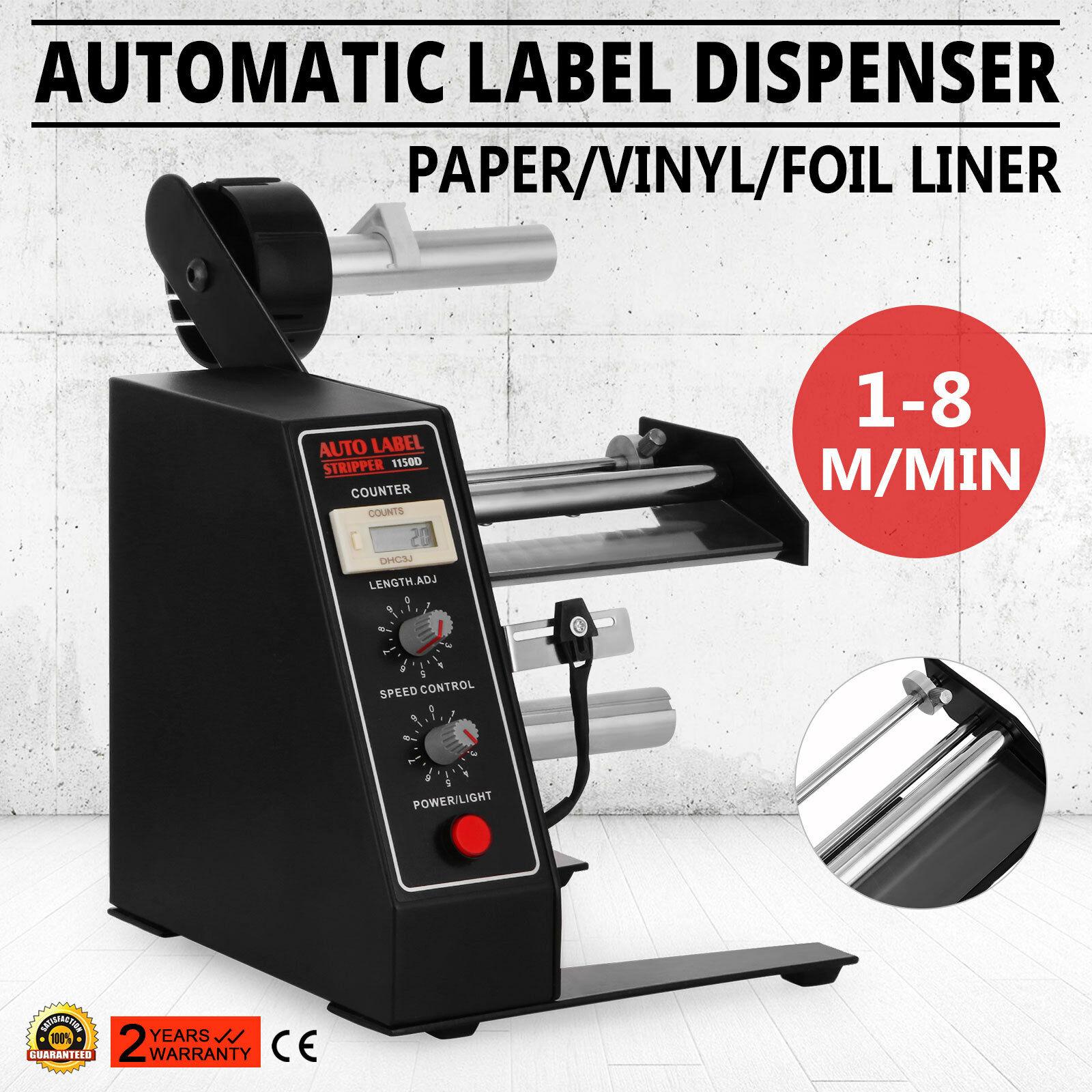 Free Shipping  Premium Automatic Label Dispenser Machine AL-1150D Device Sticker Separating