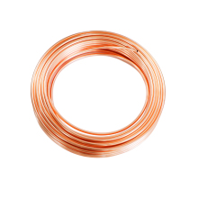 1Meter Copper Tube Coil OD 2/3/4/5/6/8/9.52/10/12/12.7/14/16/19mm Soft 99.9% T2 Copper Pipe Air Conditioning Oil Water Cooling