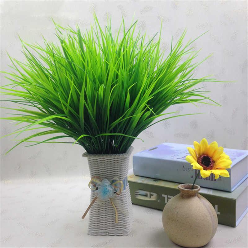 מלאכותי קיר דשא גן קישוט מלאכותי עלים לקישוט זול מזויף צמחים ירק מסיבת ג 'ונגל