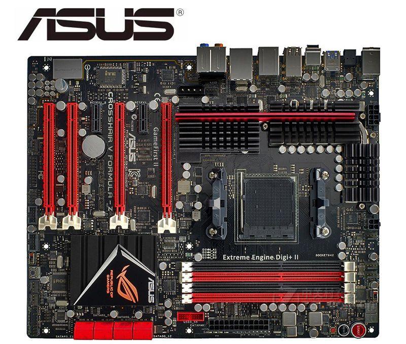 Carte mère dorigine pour ASUS Crosshair V formule-Z C5F-Z Socket AM3 + DDR3 32GB USB2.0 USB3.0 utilisé carte mère de bureau