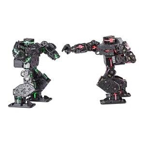 Image 5 - 27cm benim Robot zaman hattı çekirdekli M grafik programlanabilir insansı Robot eğitim robotu kiti yüksek teknoloji oyuncaklar beyaz