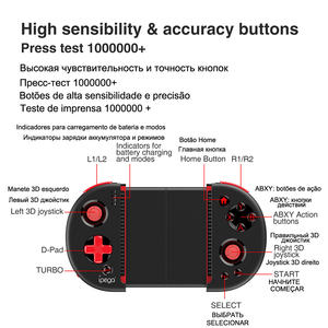 Image 3 - Console Game Pad Bluetooth Gamepad Controller Pubg Mobiele Trigger Joystick Voor Iphone Android Mobiele Telefoon Pc Smart Tv Box Controle