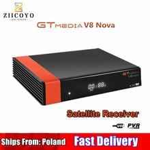HD DVB S2 GTmedia V8 Nova TV Receiver Built In WIFIเดียวกันเช่นV9 Superสเปนโปแลนด์Satelliteทีวีไม่มีAPP