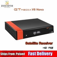 HD DVB S2 GTmedia V8 Nova uydu TV alıcısı dahili WIFI güç aynı V9 süper İspanya polonya uydu TV alıcısı hayır uygulaması