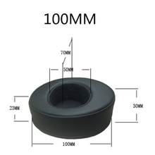 Premium Protein Leather earpads 80MM 85MM 90MM 95MM 100MM 105MM 110MM For Razer For sony Headphones Earpad Cups Soft Memory Foam anti protein skin ear pads for 50mm 55mm 60mm 65mm 70mm 75mm 80mm 85mm 90mm 95mm 100mm 105mm sponge set sh