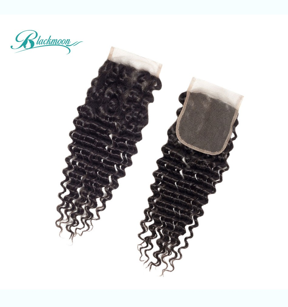 curly hair lace closure05