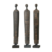 [MGT]Europe and the United States creative retro African style figure statue home office decoration crafts gift ornaments