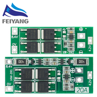 2S 20A 7,4 V 8,4 V 18650 Lithium-batterie schutz bord/BMS board standard/balance