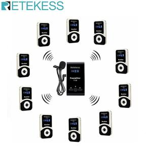 Retekess T130 99 Channel Wireless Tour Guide System for Church Translation System Factory Tour Training Court(China)